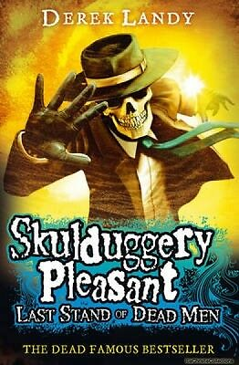 Last Stand of Dead Men Skulduggery Pleasant Book 8 9780007489237 Derek Landy Pap
