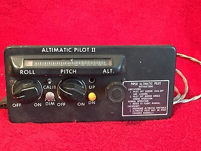 Piper Aircraft Altimatic Pilot Ii Autopilot Controller