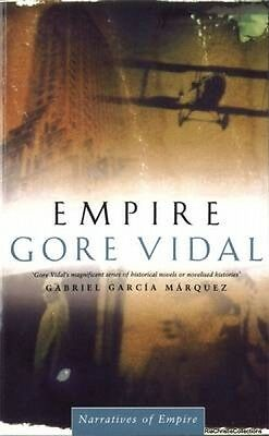 Empire 9780349105284 Gore Vidal Paperback New Book Free UK Delivery