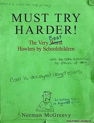 Must Try Harder Norman McGreevy Paperback New Book Free UK Delivery