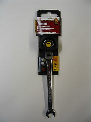 GEARWRENCH 9mm Metric Ratcheting Flex Head Combination Wrench - NEW