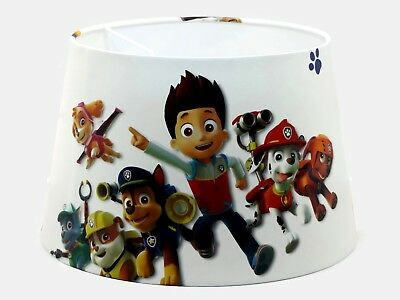 Large Paw Patrol Lampshade Ceiling Light Shade Boys Girls Bedroom Nursery Lamp