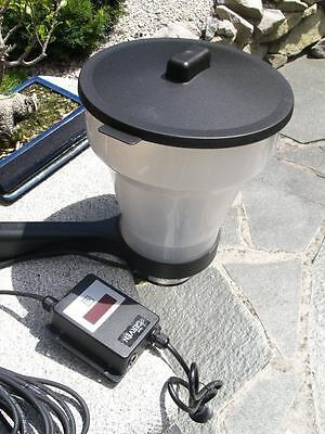 Automatic Of Fish Feeder Koi 7 Litre Content Programmgest
