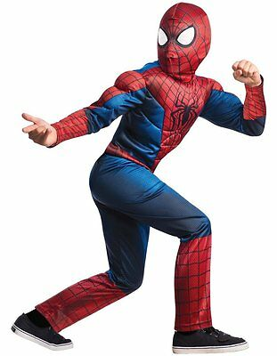 Marvel Amazing Spider-man 2 Deluxe Costume, Child Large 12-14