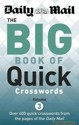 Daily Mail Big Book of Quick Crosswords New Paperback Free UK Post