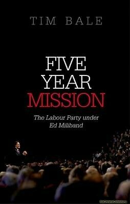 Five Year Mission Tim Bale Paperback New Book Free UK Delivery