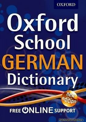 Oxford School German Dictionary New Paperback Free UK Post