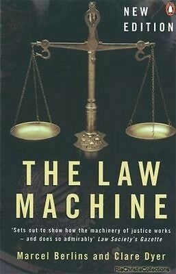 The Law Machine Marcel Berlins Clare Dyer Paperback New Book Free UK Delivery