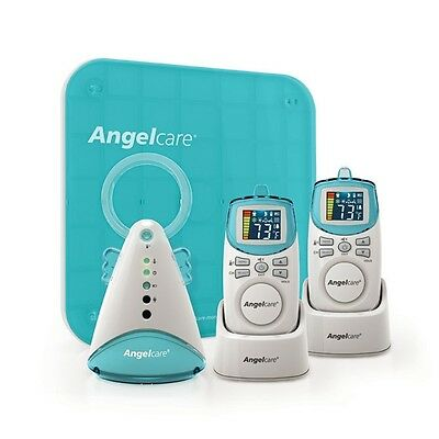 NEW Angelcare Sound & Movement Monitor Free Additional parent Unit #`AC401P