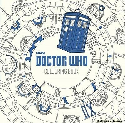 Doctor Who The Colouring Book Paperback New Book Free UK Delivery