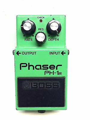 Boss PH-1R, Phaser, Made In Japan, 1981, Guitar Effect Pedal