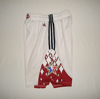 Adidas 2007 NBA All Star Game West Shorts Large Team Issue Game Worn Jersey Kobe