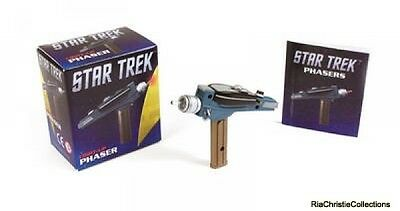 Star Trek Light-Up Phaser Running Press Mixed media product New Book Free UK Del