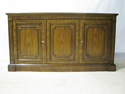 "Kindel ""Beauclair"" Buffet with Locking Doors and Interior Drawers, Near Mint"