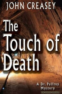 The Touch of Death John Creasey Paperback New Book Free UK Delivery