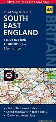 South East England Road Map New Hardback Free UK Post