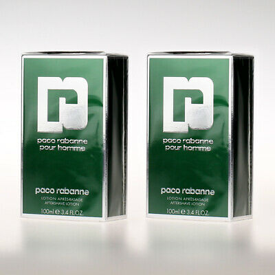 Paco Rabanne pour Homme - Aftershave 100ml - 2x