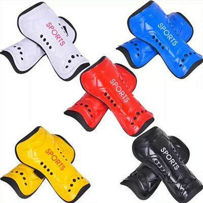 New Light Soft Football Shin Pads Soccer Guards Sports Leg Protector Kids Adult