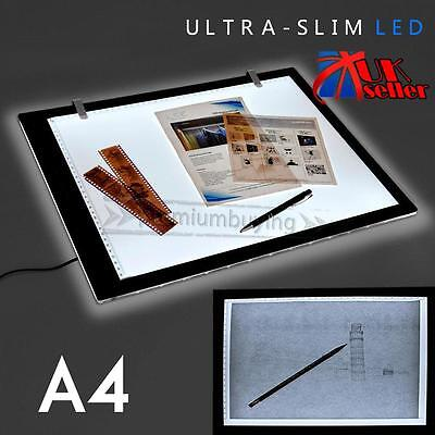 A4 LED Art Craft Design Tracing Photo Drawing Tattoo Light Box Pad Lamp Lightbox