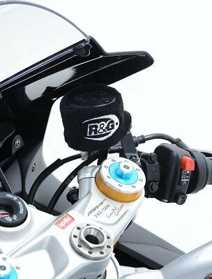 R&G Racing Motorcycle Clutch Brake Reservoir Protector Booty Cover Front or Rear