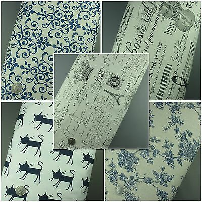 100% Cotton Linen Retro Vintage Funky Print Fabric - Extra Wide Material