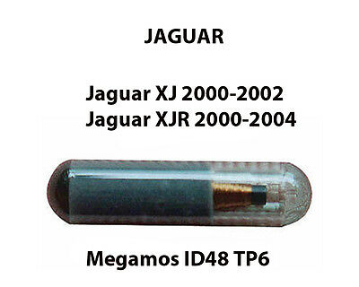 Jaguar Xj & Xjr Transponder Key Fob Chip-Id48 Tp6 Ready To Be Programmed