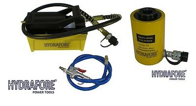 """Compressed Air Driven  Pump with Single-acting Hollow Ram Cylinder (20tons 2"""")"""