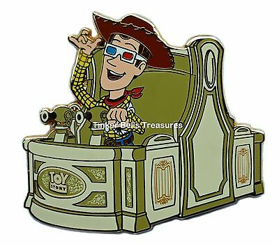DISNEY Pin LE 300 WDI -Toy Story Midway Mania Attraction Vehicle - Woody