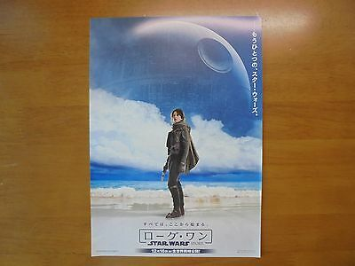 Rogue One: A Star Wars Story MOVIE FLYER Mini Poster Chirashi ver.2 Japan 28-9-1