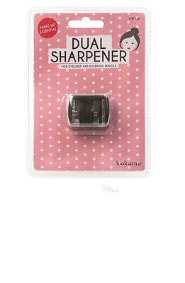 Cosmetics Dual Double Pencil Eyeliner Make Up Sharpener