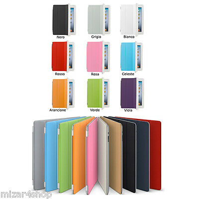 Smart Cover + Back Case Apple iPad 2/3/4, Mini, Air e Air2 + Pellicola + Pennino
