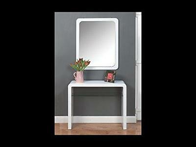 White Console Hall Table With Shelf / Atlanta Contemporary Hall Table White