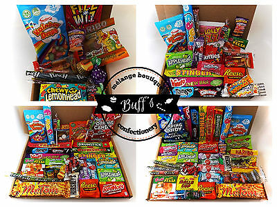 American USA Sweet & Candy Hamper Gift Box Ideal Present for Birthdays etc