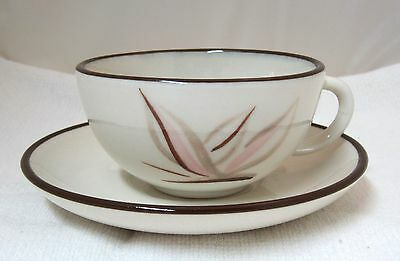 Dragon Flower Winfield China Pottery California Cup & Saucer Tea Coffee #A