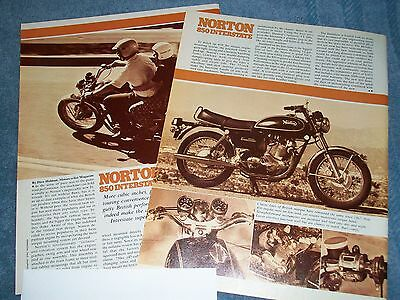 1973 Norton 850 Interstate Vintage Ride Info Article