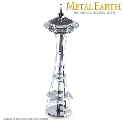 Fascinations Metal Earth Space Needle Laser Cut 3D Model