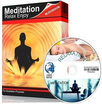 Relaxation Sessions Audio CD 4 on 1 Disc   !!! Guided Meditation ✅
