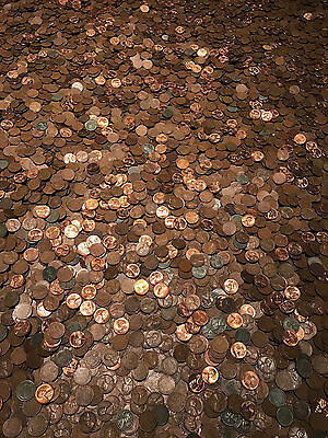 1 Pound Lincoln Wheat Penny Bags Old Small Cents Set Money Hoard Lot Estate Sale