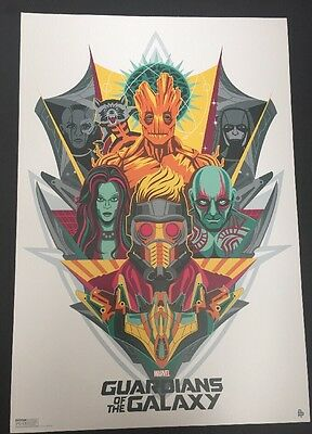 Guardians of the Galaxy Marvel SDCC Comic Con 2014 Exclusive Promo Poster