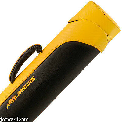 Predator Sport Yellow 2x4 Pool Cue Case - CSP2x4Y - Yellow Carbon Fiber
