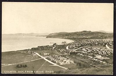 D967     Colwyn Bay From Above Rhos , Wales .