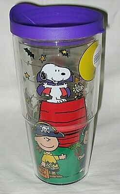 Tervis USA Peanuts Gang Halloween Trick or Treat Wrap 24-oz Tumbler w/Lid