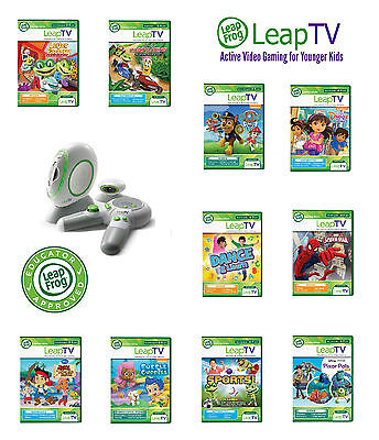 LeapFrog LeapTV Games Educational Software for Kids aged 3 to 8 years