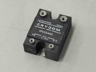 #43 Crydom 7PCV2440 Proportional Power Controller Solid State Relay 40A
