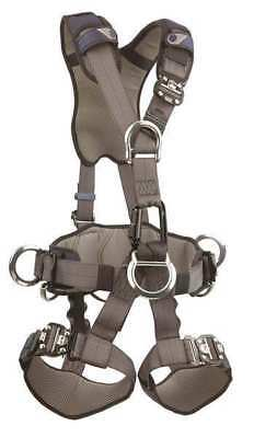 DBI-SALA 1113346 Full Body Harness,M,420 lb.,Blue