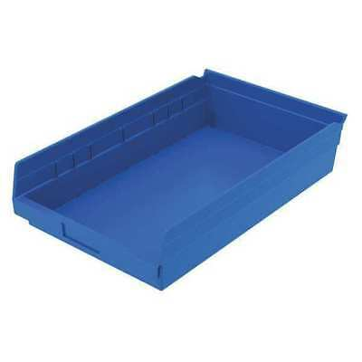 "Blue Shelf Bin, 17-7/8""L x 11-1/8""W x 4""H AKRO-MILS 30178BLUE"