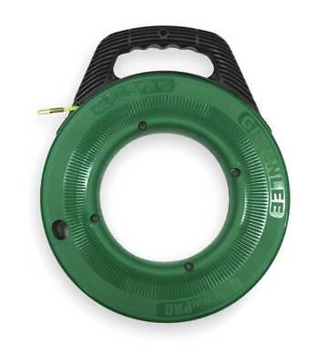 Fish Tape,3/16 In x 100 ft,Nylon GREENLEE FTN536-100