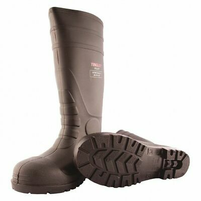 TINGLEY 31251 Oversock Boots, Mens, Size 8, Black, PR