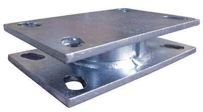 "1500 lb. Capacity Steel Turntable Swivel Section 4-1/2"" x 6-1/2"" Plate"