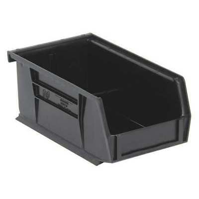 "Black Hang and Stack Bin, 7-3/8""L x 4-1/8""W x QUANTUM STORAGE SYSTEMS QUS220BK"